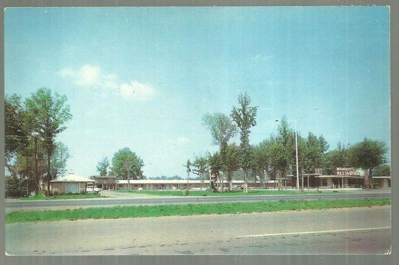Postcard Charron Motel, US Highway 72, 231, 431 North 1 1/2 Mile Huntsville AL