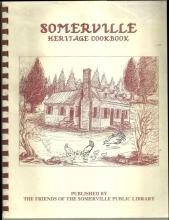 Friends of the Somerville Public Library Somerville, Alabama Cookbook 1990