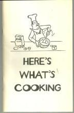 Here's What's Cooking Holiday Smorgasbord November 14, 1979 Huntsville Alabama