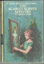 Scarlet Slipper Mystery by Carolyn Keene Nancy Drew #32 1974 Yellow Matte Cover
