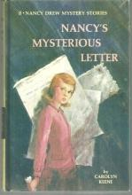 Nancy's Mysterious Letter by Carolyn Keene Nancy Drew #8 1968 Yellow Matte