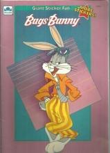 Bugs Bunny Giant Sticker Fun 1991 Unused Golden Book