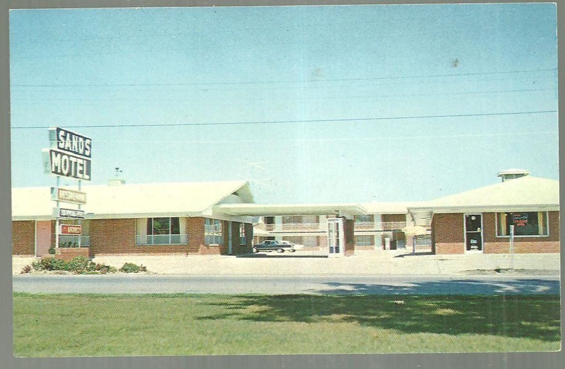 Vintage Unused Postcard of the Sands Motel, Highway 64 East, Conway, Arkansas