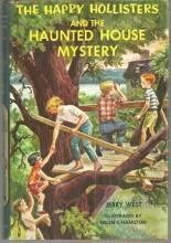 Happy Hollisters and the Haunted House Mystery by Jerry West 1962 Series #21 DJ