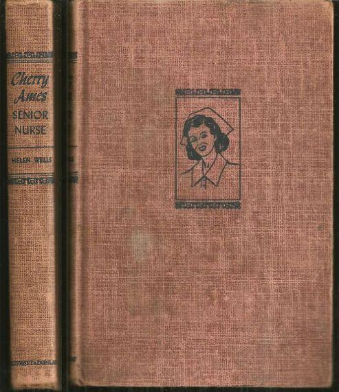 Cherry Ames Senior  Nurse by Helen Wells 1944 Girl's Series #2 Red Tweed Cover