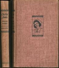 Cherry Ames Cruise Nurse by Helen Wells 1948 Girl's Series #9 Red Tweed Cover