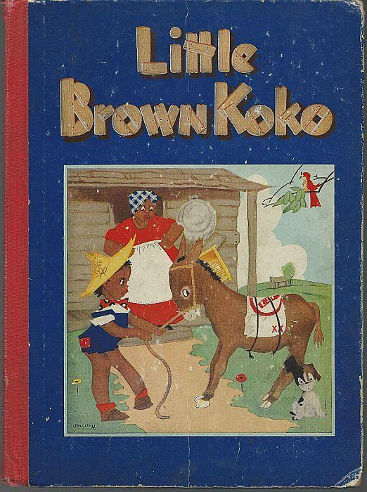 Stories of Little Brown Koko by Blanche Seale Hunt Illustrated 1940 Picture Book