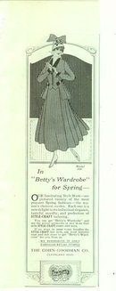 Betty's Wardrobe from Style-Craft 1916 Advertisement