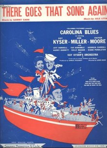 There Goes That Song Again Kay Kyser 1944 Sheet Music
