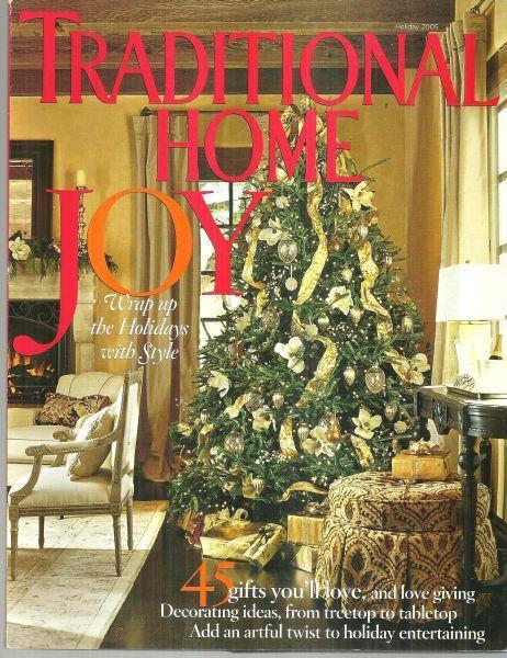 Traditional Home Magazine Holiday 2005 Catskills Christmas/Christmas Dinner