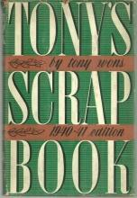 Tony's Scrap Book 1940-1941 Edition by Tony Wons 1941 with Dust Jacket