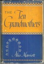 Ten Grandmothers by Alice Marriott 1948 with Dust Jacket Epic of the Kiowas