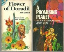 Flower of Doradil and a Promising Planet Ace Double 1970 Science Fiction Books