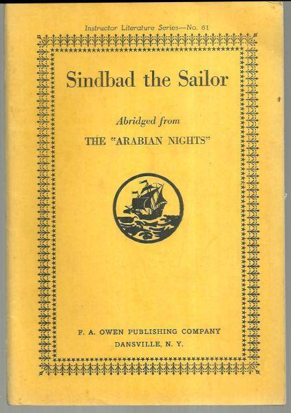 Sinbad the Sailor From The Arabian Nights Instructor Literature Series Vol. 61