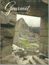 Gourmet Magazine February 1980 Cuzco and Machu Picchu