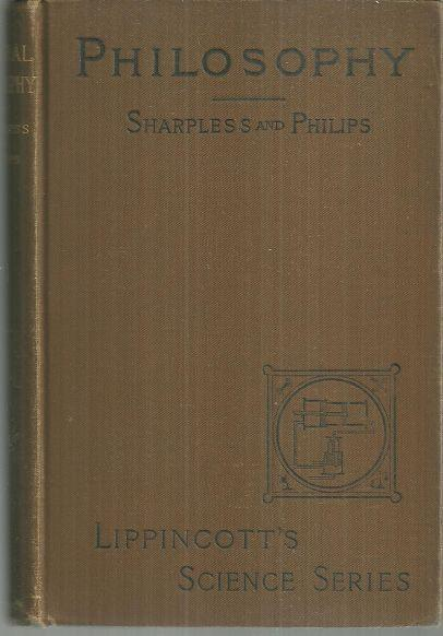 Natural Philosophy by Issac Sharpless 1892 Lippincott's Science Series Illus
