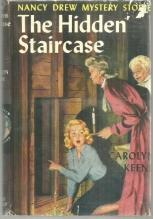 Hidden Staircase by Carolyn Keene Nancy Drew #2 1959 with Dust Jacket