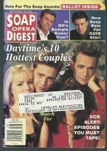 Soap Opera Digest Magazine September 28, 1993  Daytime's 10 Hottest Couples