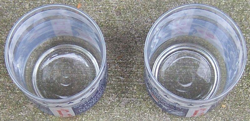 Set of Two Vintage Apollo 13 Safe Return Aquarius Space Drinking Glasses