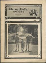 Kitchen Klatter Magazine September 1949  School Lunches and School Day Party
