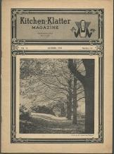 Kitchen Klatter Magazine October 1949 Trick or Treats/Log Cabins/Recipes