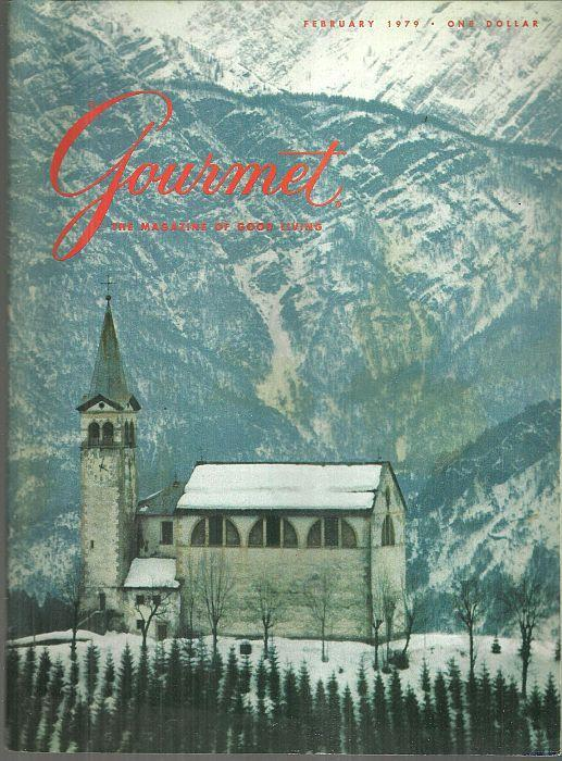 Gourmet Magazine February 1979 New York's Chinatown/Skiing in Cortina/Cognac