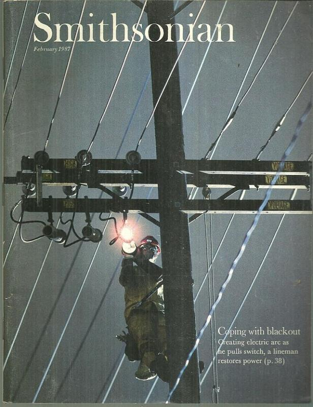 Smithsonian Magazine February 1987 Blackouts/Wildebeests/Paul Klee/Stage Manager