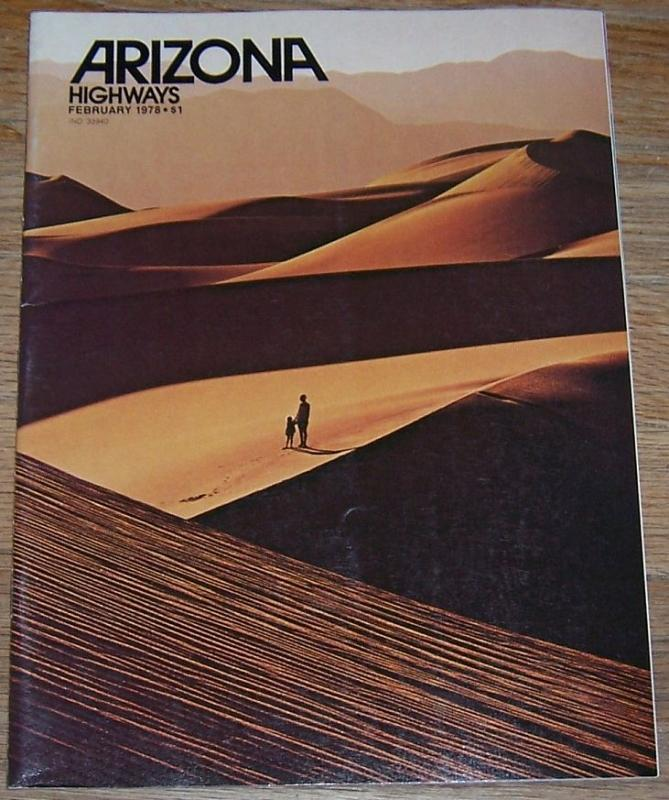 Arizona Highways Magazine February 1978 Casa Grande's O'Odham Tash/Mesa/Burro