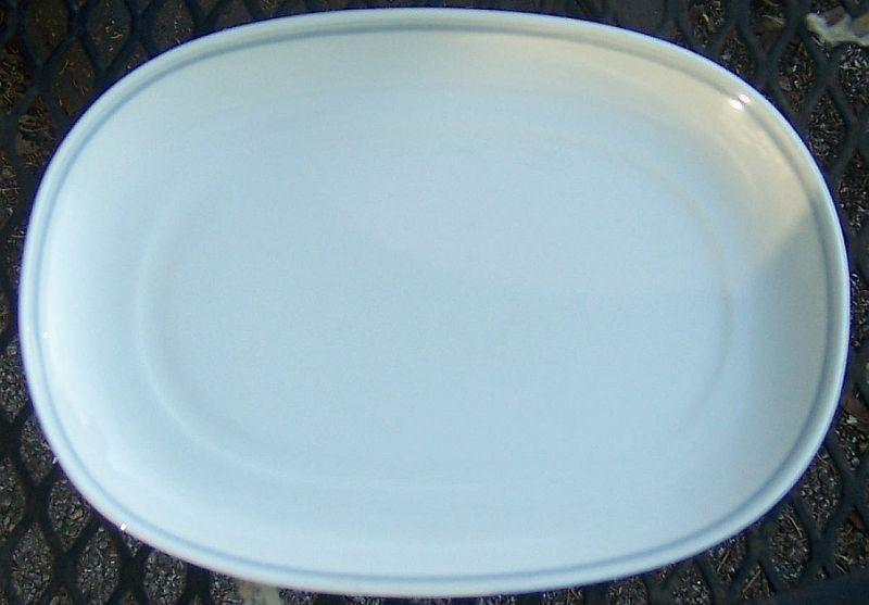 Vintage Heinrich Villeroy and Boch Vega Bone China Gravy Underplate