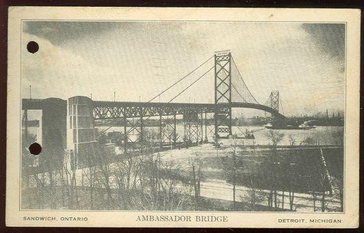 Ambassador Bridge, Sandwich, Ontario Detroit, Michigan
