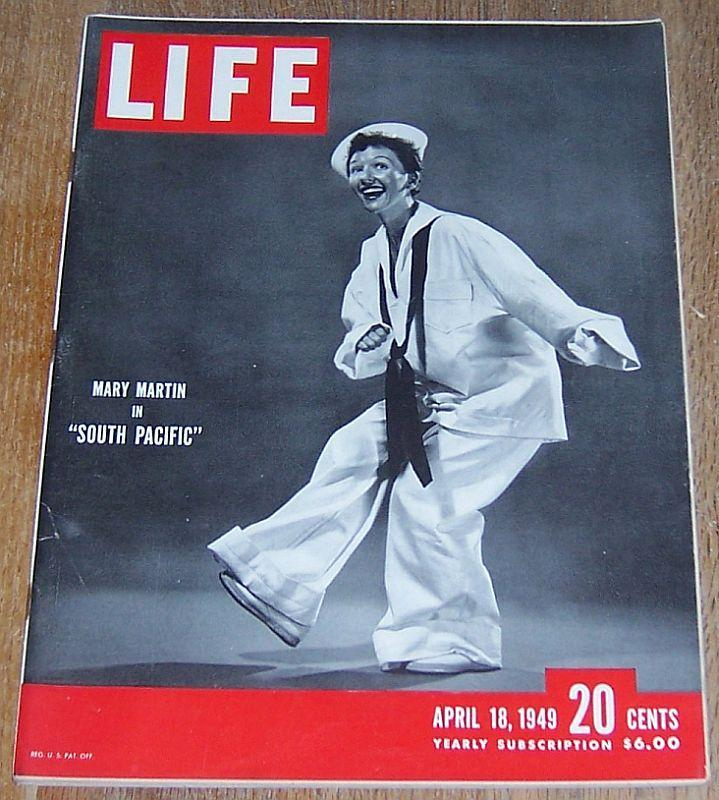 Life magazine april 18 1949 mary martin cover somerset for Jewelry stores effingham il