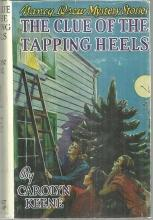 Clue of the Tapping Heels by Carolyn Keene Nancy Drew #16 with Dust Jacket
