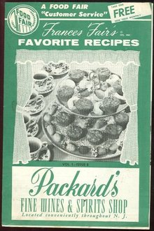 Frances Fair's Favorite Recipes Food Fair Groceries