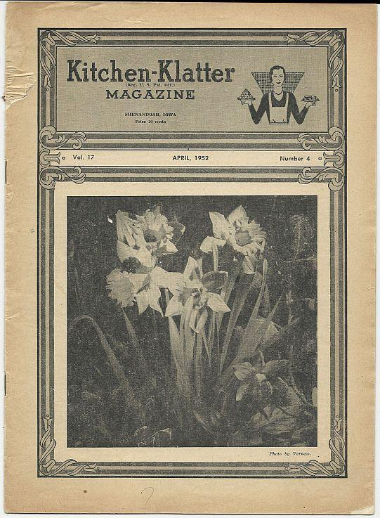 Kitchen Klatter Magazine 1963 (Lot of 6) Issues