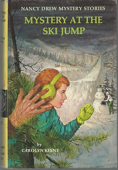 Mystery at the Ski Jump by Carolyn Keene Nancy Drew #29 1971 Matte Yellow Cover