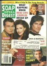 Soap Opera Digest Magazine December 21, 1993 Scotland Yarn on Bold and Beautiful