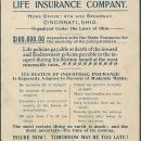 Victorian Trade Card for Western and Southern Life Insurance with Dancing Boy