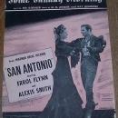Some Sunday Morning From San Antonio starring Errol Flynn 1945 Sheet Music