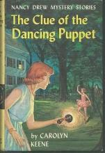 Clue of the Dancing Puppet by Carolyn Keene Nancy Drew #39 1962 Yellow Matte