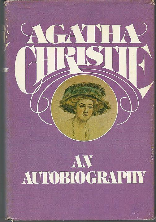 My Autobiography by Agatha Christie 1977 with Dustjacket Illustrated