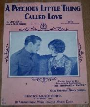 Precious Little Thing Called Love Shopworn Angel with Gary Cooper/Nancy Carroll