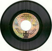 Ohio Express Sings Chewy Chewy Firebird 45RPM Record