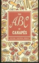 ABC's of Canapes 1953 Peter Pauper Press with DJ
