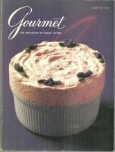 Gourmet Magazine August 1991  Bloomsbury by the Sea and Picnics
