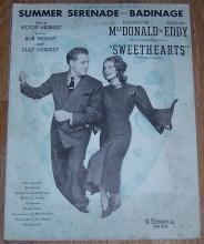 Summer Serenade-Badinage Starring Jeannette MacDonald and Nelson Eddy 1938 Music