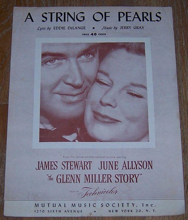 String of Pearls From Glenn Miller Story Starring James Stewart and June Allyson
