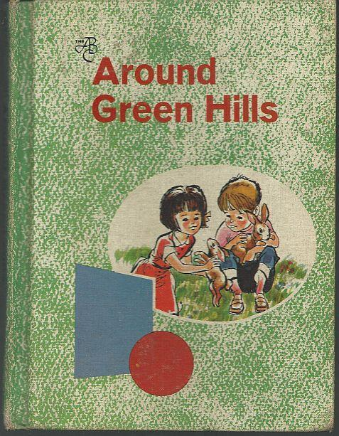 Around Green Hills Betts Basic Readers by Emmett Betts School Book Illustrated