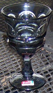 Fostoria Smoke Argus Goblet