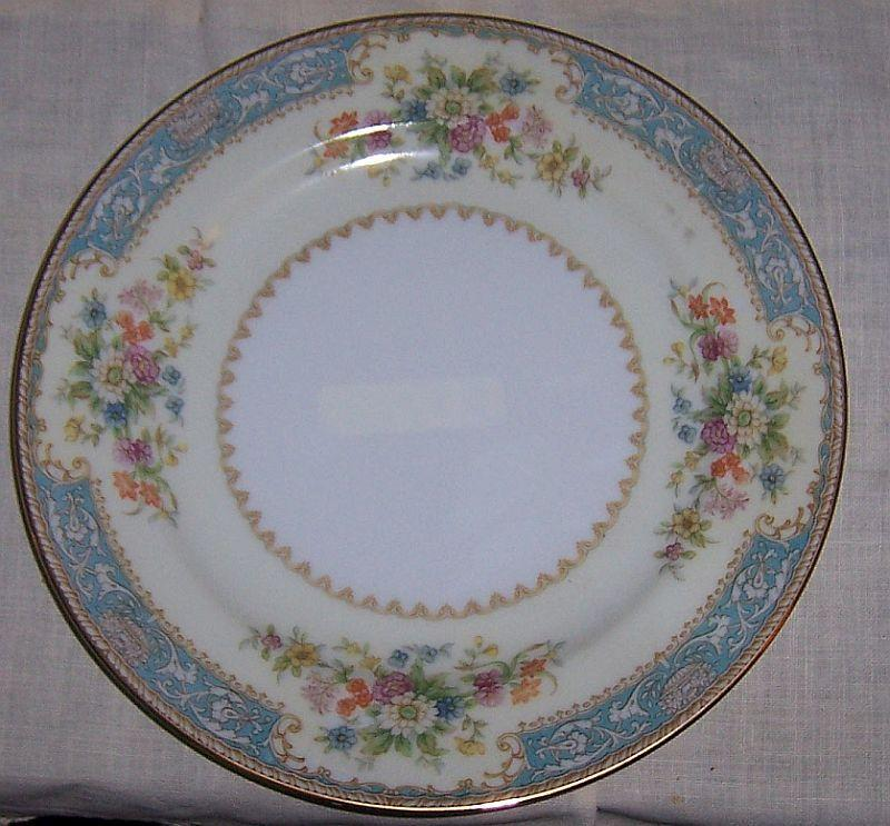 Noritake China Occupied Japan Blue Dawn Salad Plate