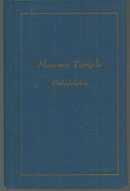 Souvenir Album Masonic Temple, Philadelphia 1974 Color Illustrations
